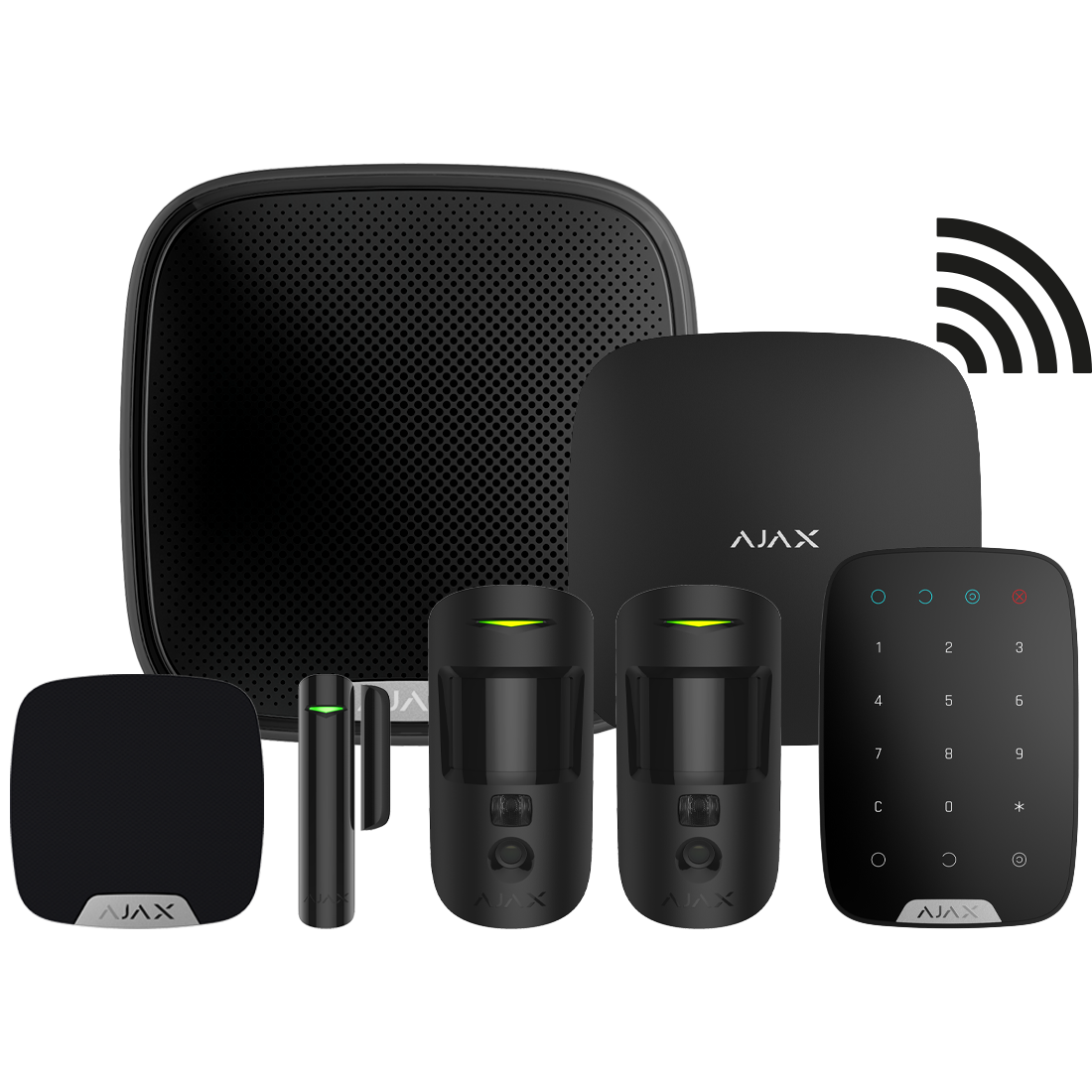 Ajax Hub2 Plus Camera Kits