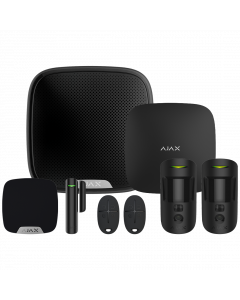 Ajax Hub2 Plus Wireless Camera Starter Kit 1 - Black (AJA-23306)