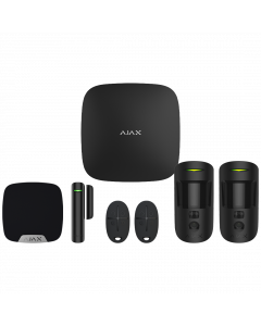 Ajax Hub2 Plus Wireless Camera Starter Kit 2 ‑ Black (AJA‑23325)