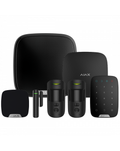 Ajax Hub2 Plus Wireless Camera Starter Kit 3 ‑ Black (AJA‑23331)