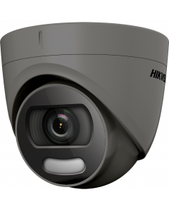 Hikvision ColorVu 4in1 5MP 20m Turret Dome 2.8mm - Grey (DS-2CE72HFT-F-2.8MM-GR)