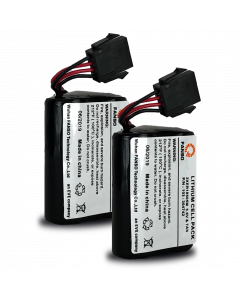 Visonic PowerMax/PowerMaster Lithium Sounder Battery for MCS-740, SR-720 and SR-740 - Pack of 2 (K-305177)