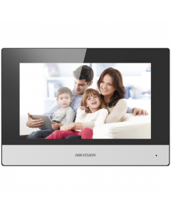 "Hikvision 2 Wire Intercom 7"" Touchscreen Monitor (DS-KH6320-WTE2)"