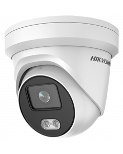 Hikvision IP ColorVu 4MP 30m Turret Dome with Microphone 2.8mm   (DS-2CD2347G1-LU-2.8MM)