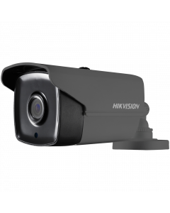 Hikvision POC Turbo TVI 5MP 40m Bullet 3.6mm - Grey (DS-2CE16H0T-IT3E-GR)