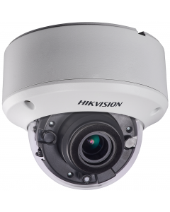 Hikvision POC Turbo TVI 5MP 40m Vandal Dome Motorised 2.8-12mm (DS-2CE56H0T-VPIT3ZE)