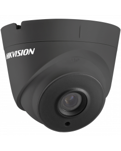 Hikvision POC Turbo TVI 5MP 40m Turret Dome 2.8mm - Grey (DS-2CE56H0T-IT3E-2.8MM-GR)