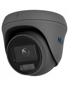 HiLook by Hikvision IP ColorVu 5MP 30m Turret Dome 2.8mm - Grey (IPC-T259H-2.8MM-GR)