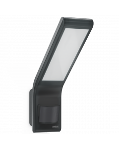 Steinel XLED Slim LED 10.5W Floodlight with PIR - Black (STE-XLED-SLIM-B)