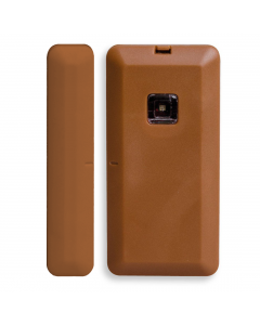 Texecom Premier Elite Ricochet Micro Contact-W Wireless Door Contact - Brown (GHA-0003)