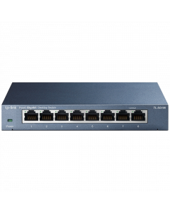 TP-Link 8-Port 10/100/1000Mbps Desktop Switch (TL-SG108)