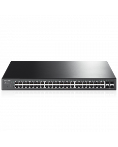 TP-Link 48-Port Gigabit Smart Network Switch with 4 SFP Slots (TL-SG2452)