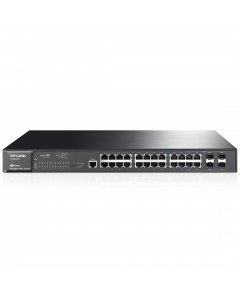 TP-Link JetStream 24-Port Gigabit L2 Managed PoE+ Switch with 4 Combo SFP Slots (TL-SG3424P)