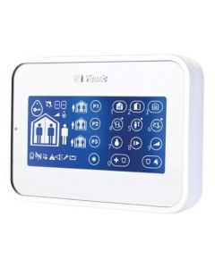 Visonic PG2 PowerMaster KP-160 Wireless Touchscreen Prox Keypad - White (0-102924)
