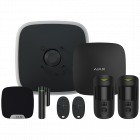 Ajax DoubleDeck Hub2 Wireless Camera Starter Kit 1 - Black (AJA-20566)
