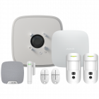 Ajax DoubleDeck Hub2 Wireless Camera Starter Kit 1 - White (AJA-20567)