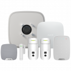 Ajax DoubleDeck Hub2 Wireless Camera Starter Kit 3 - White (AJA-20575)