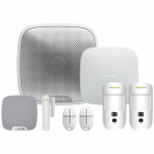 Ajax Hub2 Wireless Camera Starter Kit 1 - White (AJA-17733)