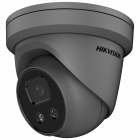 Hikvision IP Acusense DarkFighter Lite 4MP 30m Turret Dome with Microphone 2.8mm - Grey  (DS-2CD2346G2-IU-2.8MM-GR)