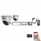 HiLook by Hikvision 2 Camera 4ch 5MP 20M CCTV Kit (HI-KIT-TVI-5MP-20M-2)