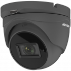 Hikvision POC Turbo TVI 5MP 40m Turret Dome Motorised 2.8-12mm - Grey (DS-2CE56H0T-IT3ZE-GR)