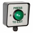 RGL External IP66 Green Dome Exit Button (WP-EBGBWC02/PTE)