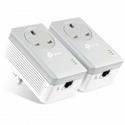 TP-Link PowerLine 600 Adaptor Kit with AC Passthrough - PK2  (TL-PA4010P)